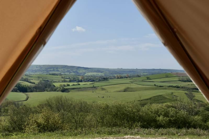 Mapperton Camps Coltleigh Farm, Mapperton, Beaminster, Dorset DT8 3NR