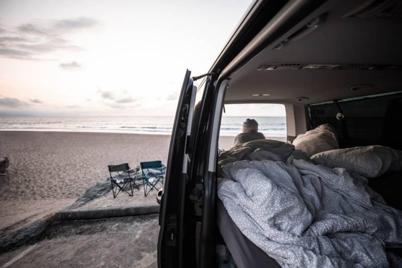 VW Camper - Biarritz