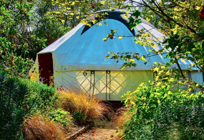 Whole Site - 6 Lotus Belle Tents max 12 ppl
