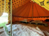 Paulo's Pitch - Bell tent