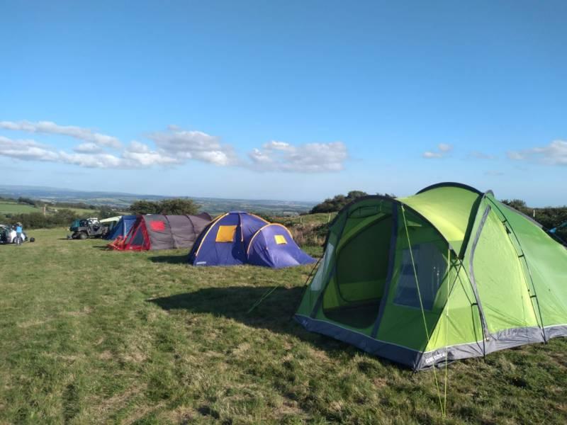 Summit Camping Trecarra Launceston Road Kelly Bray Callington Cornwall PL17 8DU