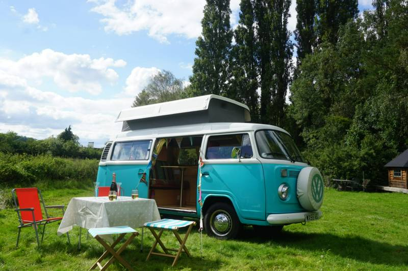 Cotswold Camper Hire Witcombe  Gloucestershire