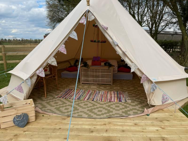 Grandpa's Spinney Bell Tent