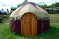 3.65m lux double yurt