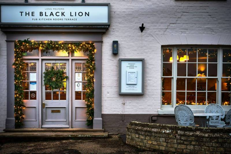 The Black Lion The Green, Long Melford, Suffolk CO10 9DN