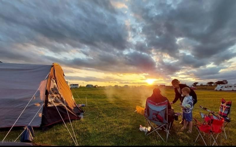 Camping at Cardewlees