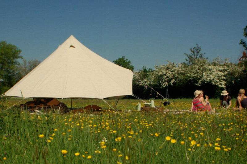 Blank Canvas 5m Bell Tent