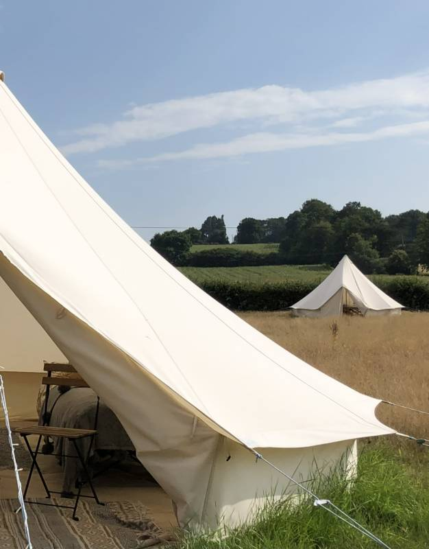 Family bell tent - midweek glamping
