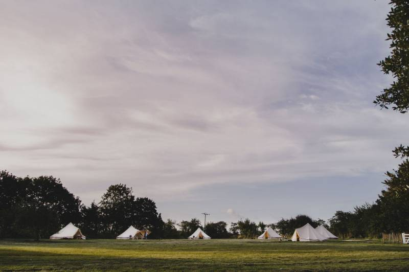 Exclusive Stay: All 6 Bell Tents to yourself!