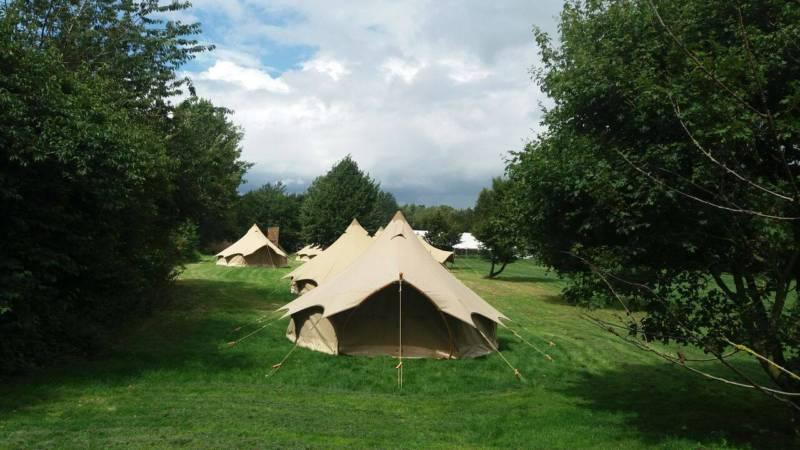 Safari Bell Tent Couple