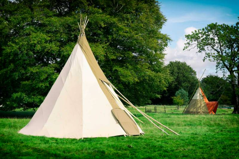 Wild Canvas Camping Coppey Moor Cottage, Turvey, Bedfordshire MK43 8EQ