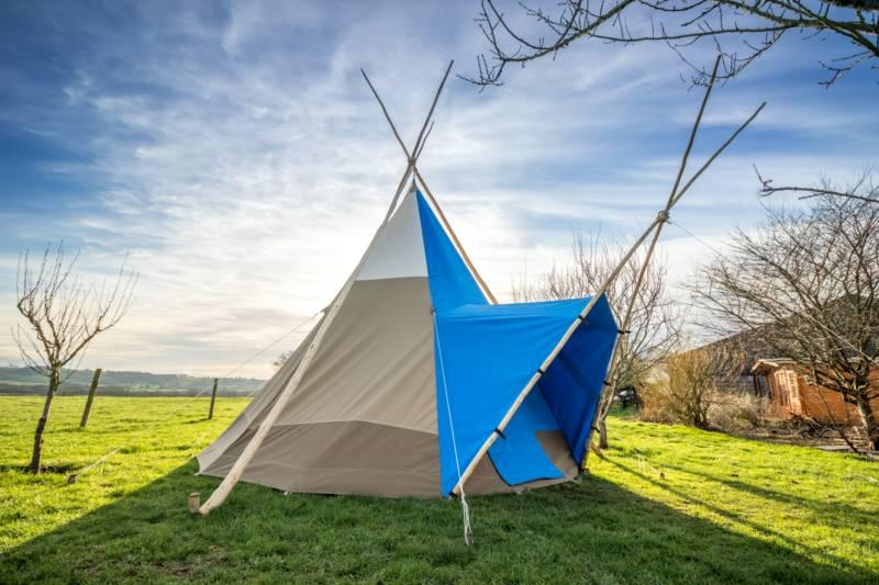 Pilton Yurt Camps- Trilodge for 3