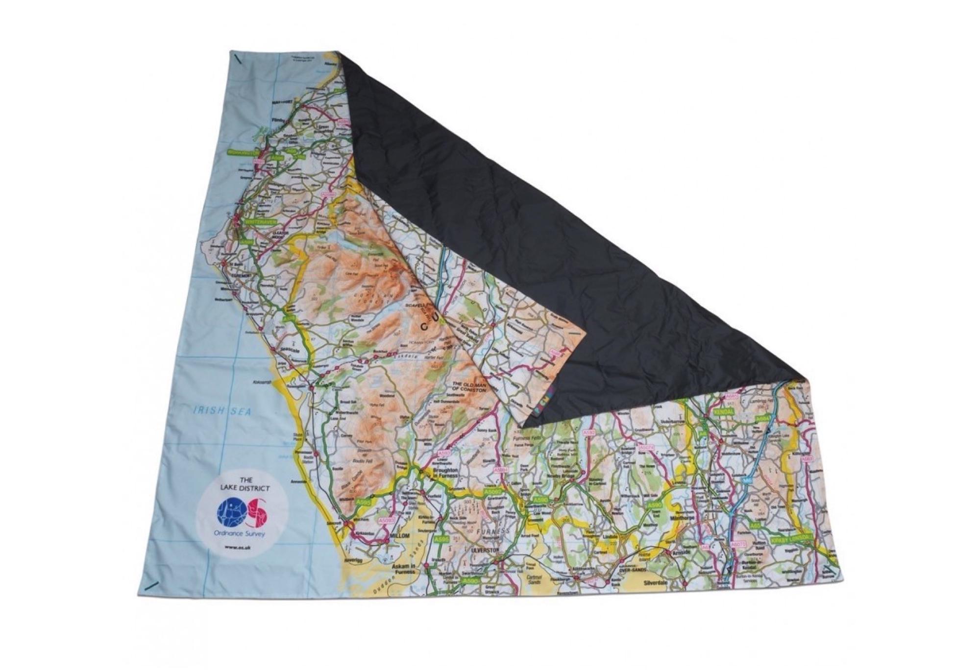 Ordnance Survey Picnic Blanket