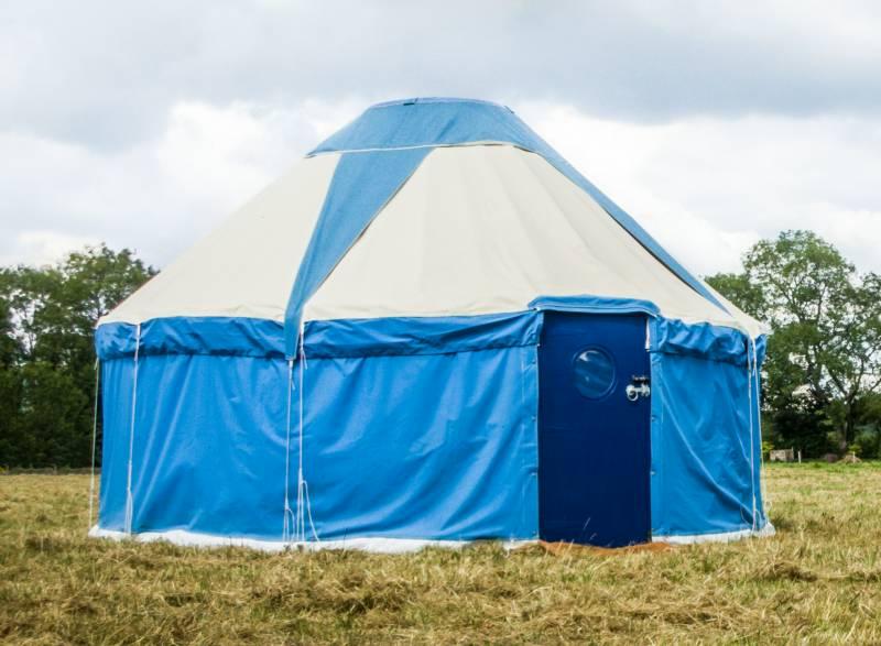 Pilton Yurt Camps- Classic Yurt for 4