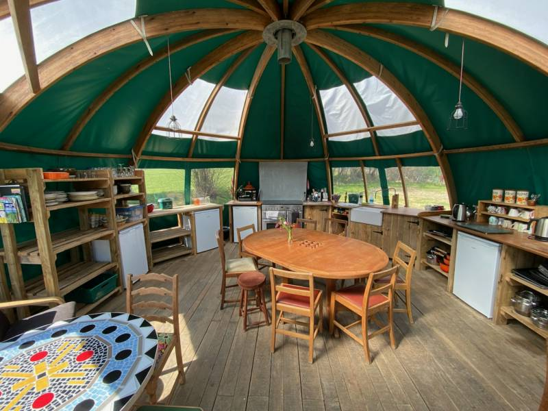 Valley Yurts Valley Yurts Lane House Farm, Gladestry, Kington HR5 3NT