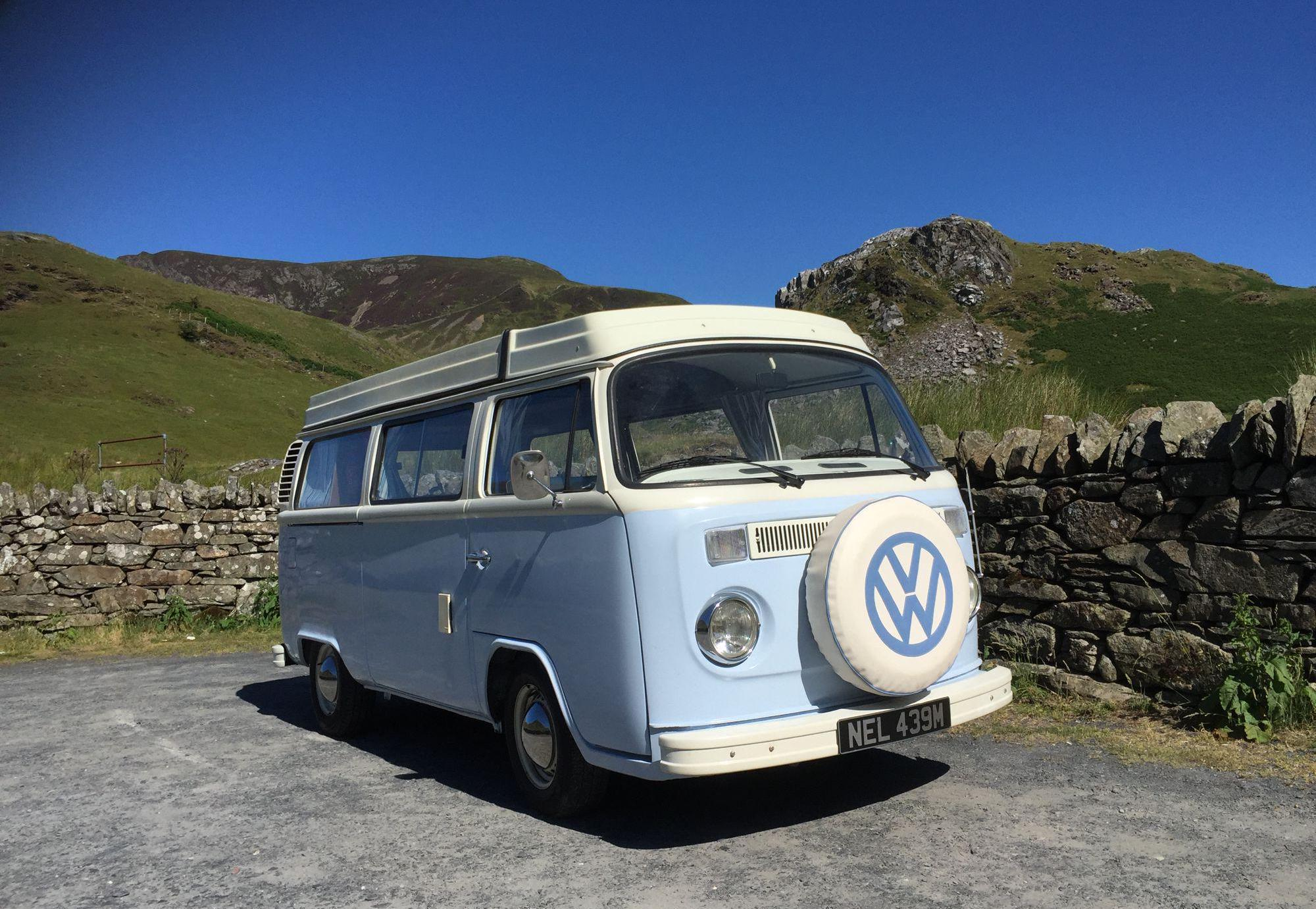 Nell Camper in Cornwall