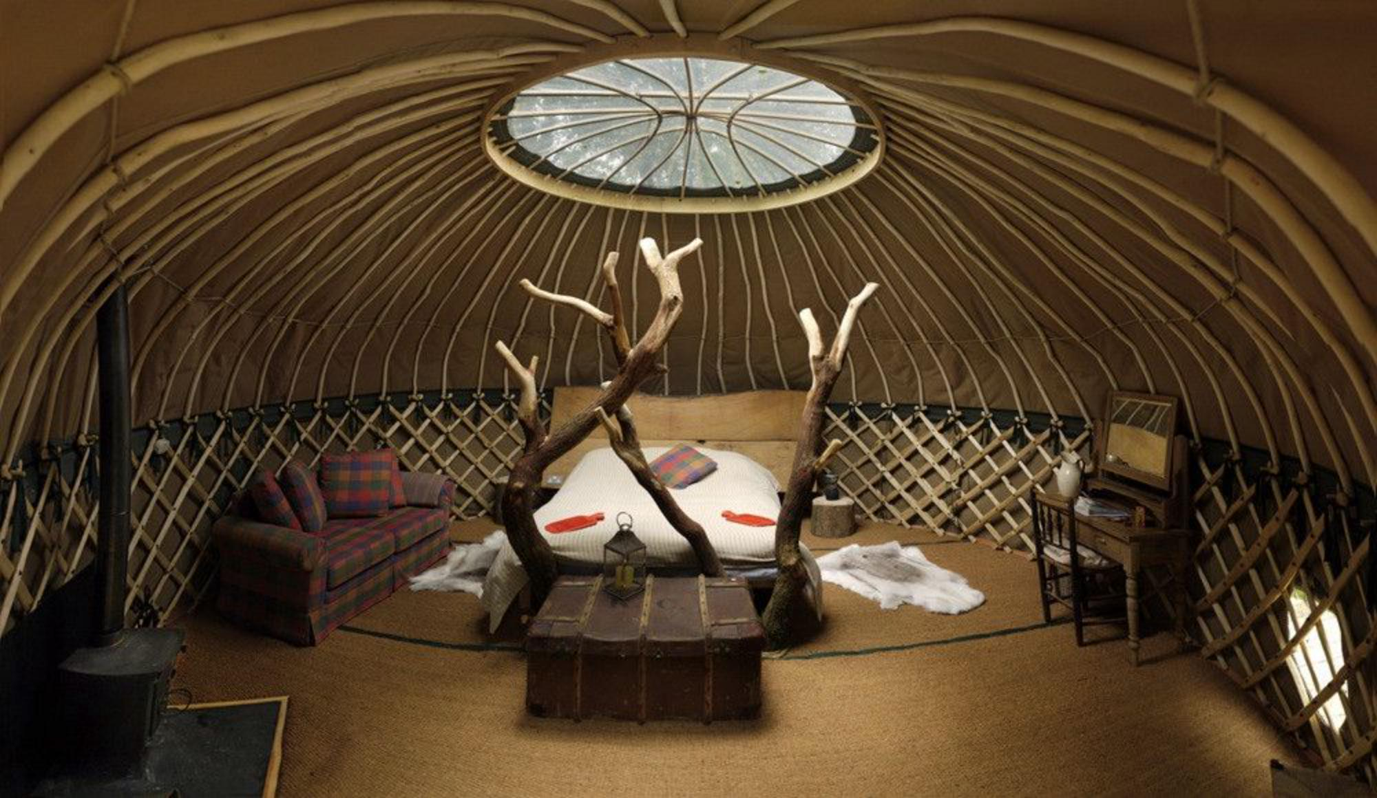Crafty Camping Yurt, Dorset