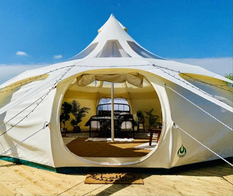 Lavender Belle Tent