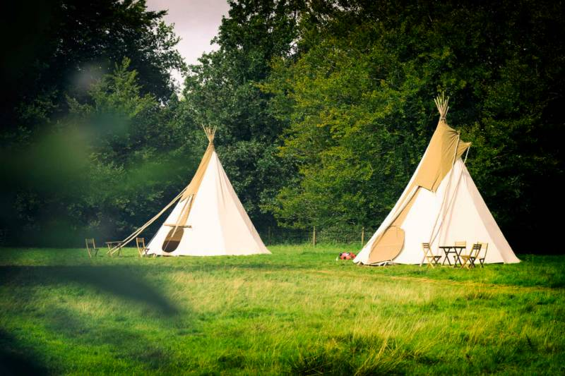 Furnished Tipi for 2 People