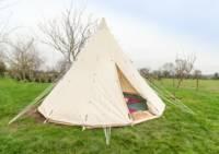 Pilton Yurt Camps- TipiTent for 2-4