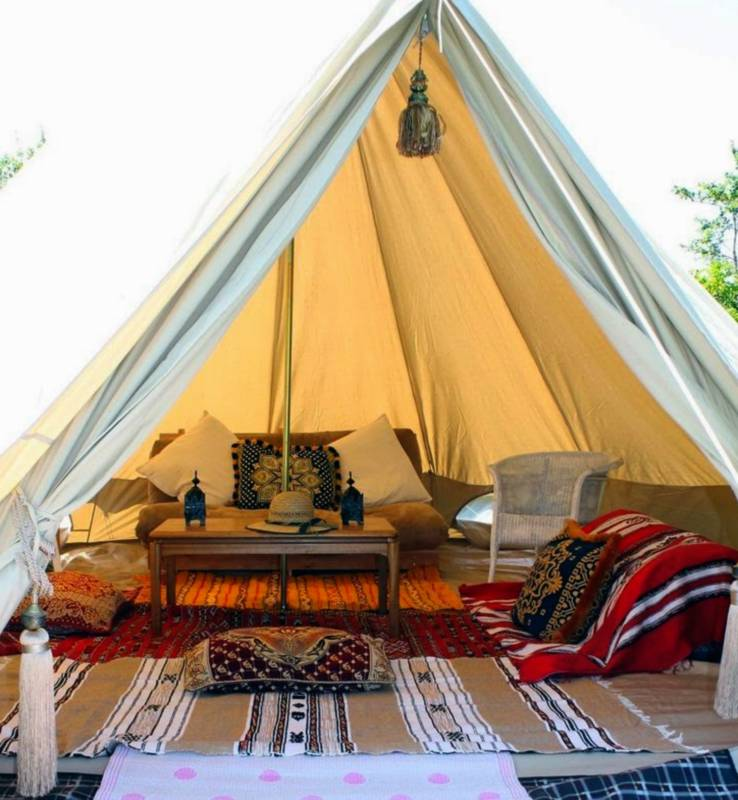 Furnished 5m Bell Tent