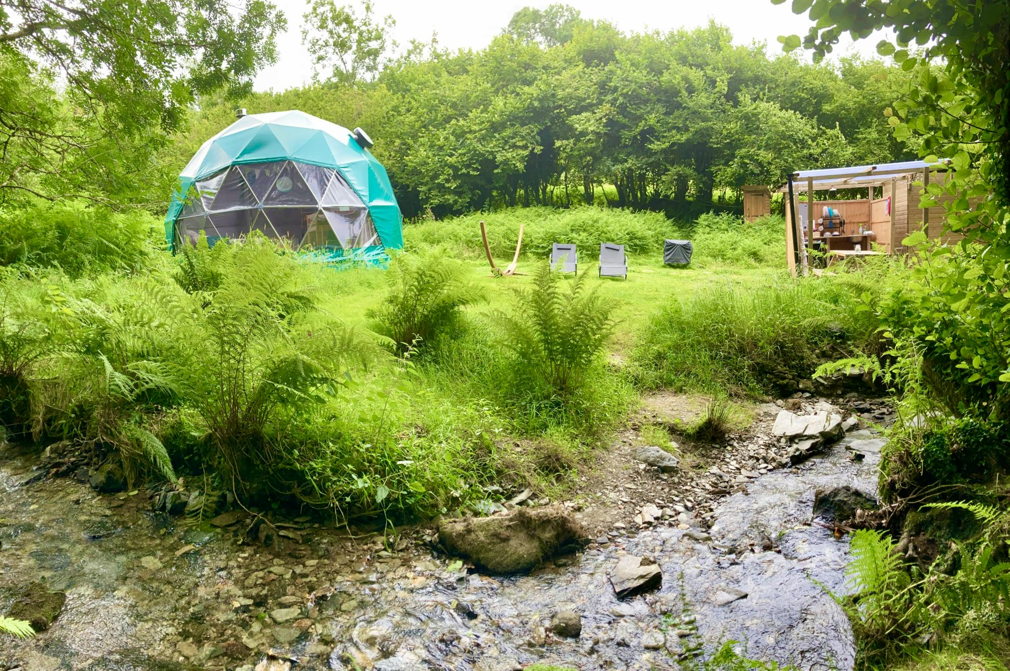 Glamping in Plymouth – Glampingly