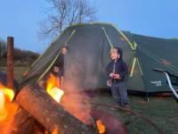 Grass tent pitch - 1 tent per pitch