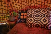 Luxury fully-furnished bell tent (four man)
