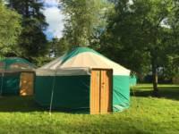 4.25m diameter yurt