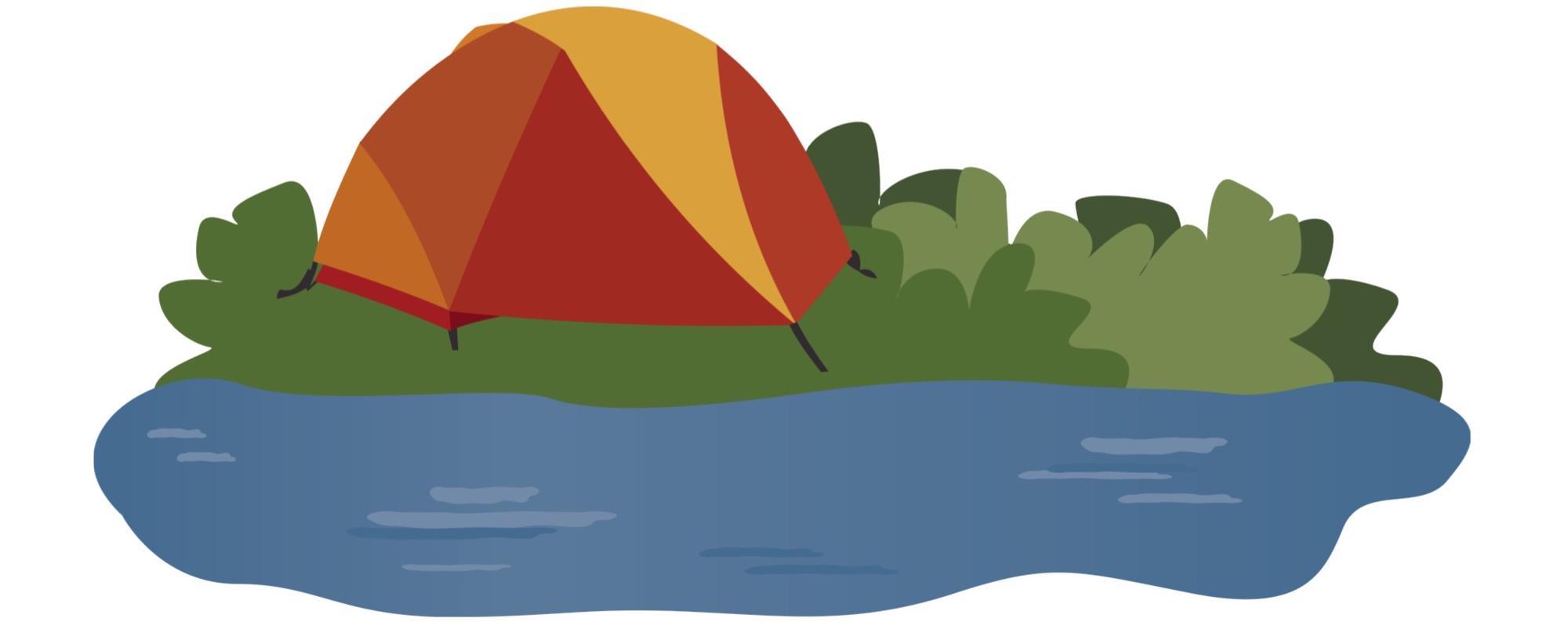 Small Tent illustration