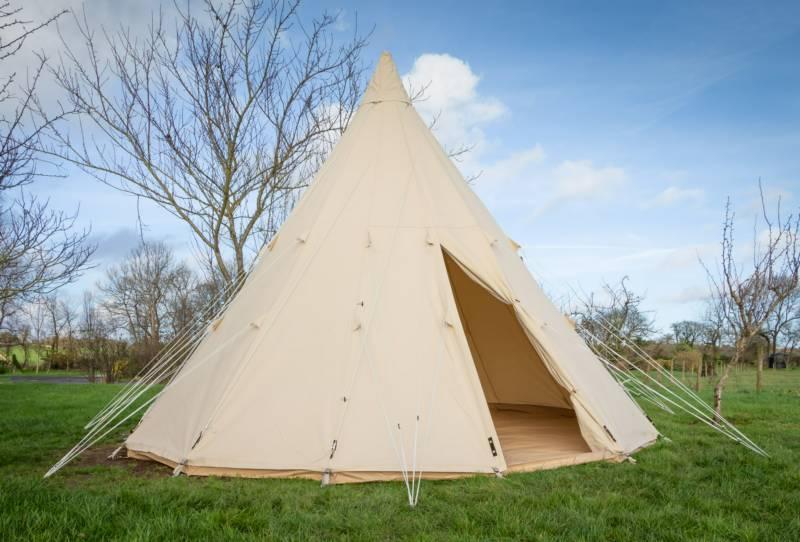 Tipi Tent unfurnished