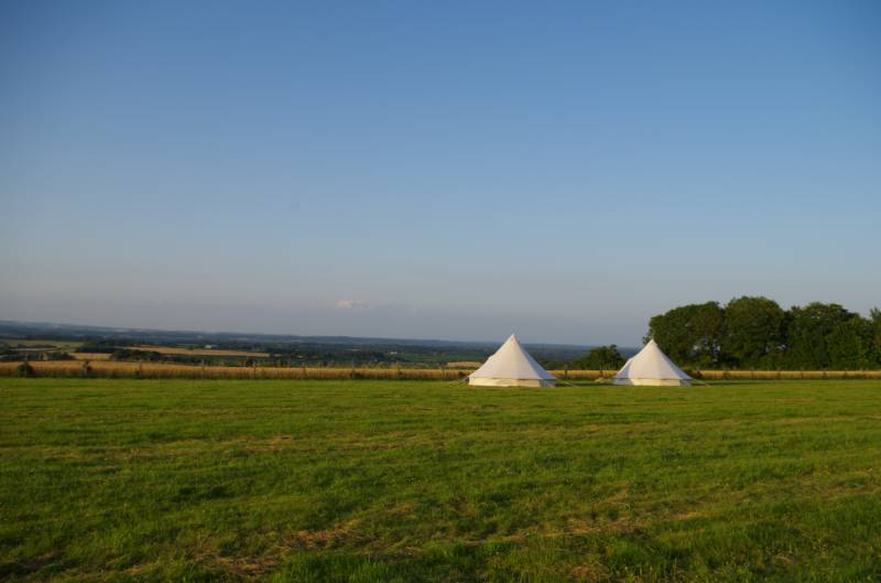 Donkey Down Camping at Culliford Tree Chalky Road, Whitcombe, Dorset DT2 8NL