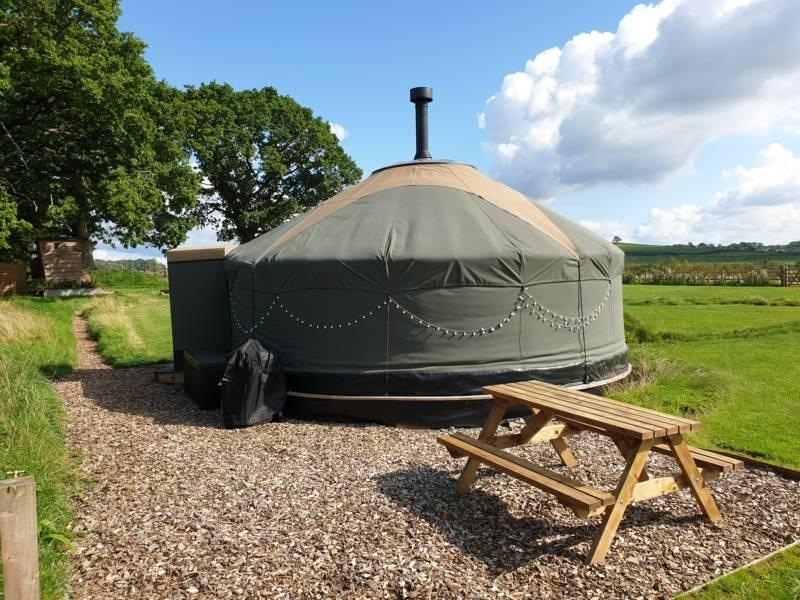 The Carrick yurt