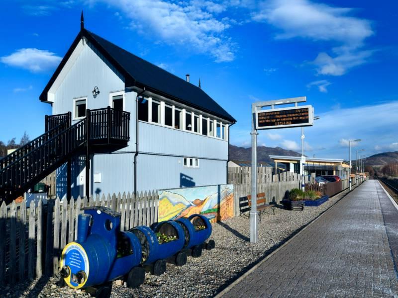 Signal Box Newtonmore, Northern Highlands & Cairngorms National Park