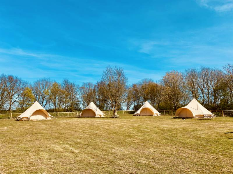 Little Otchan Glamping Little Otchan Shepherd Hut, Hall Farm, Halsham, Hull, East Yorkshire HU12 0BU