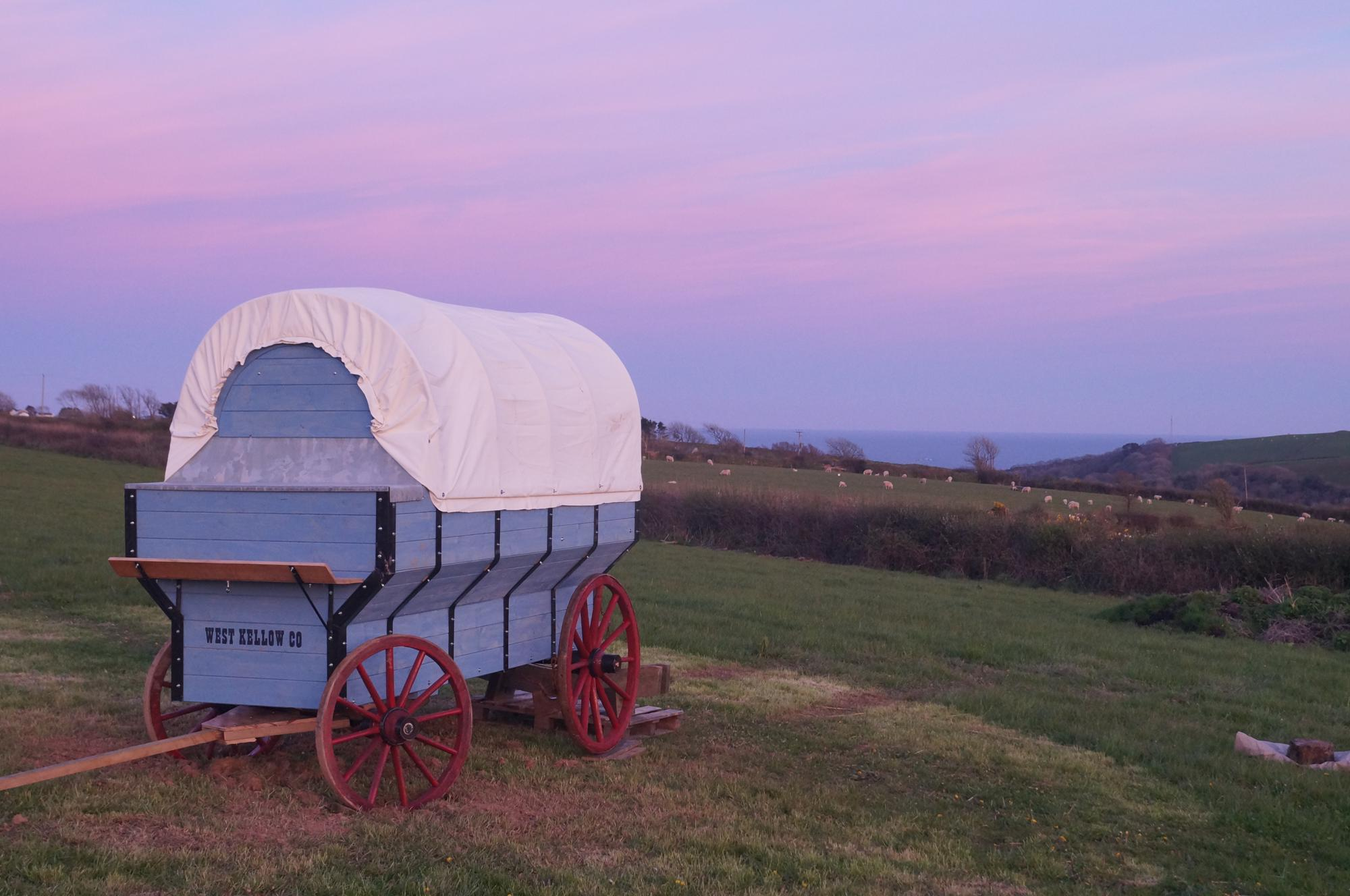 West Kellow Yurts, Cornwall