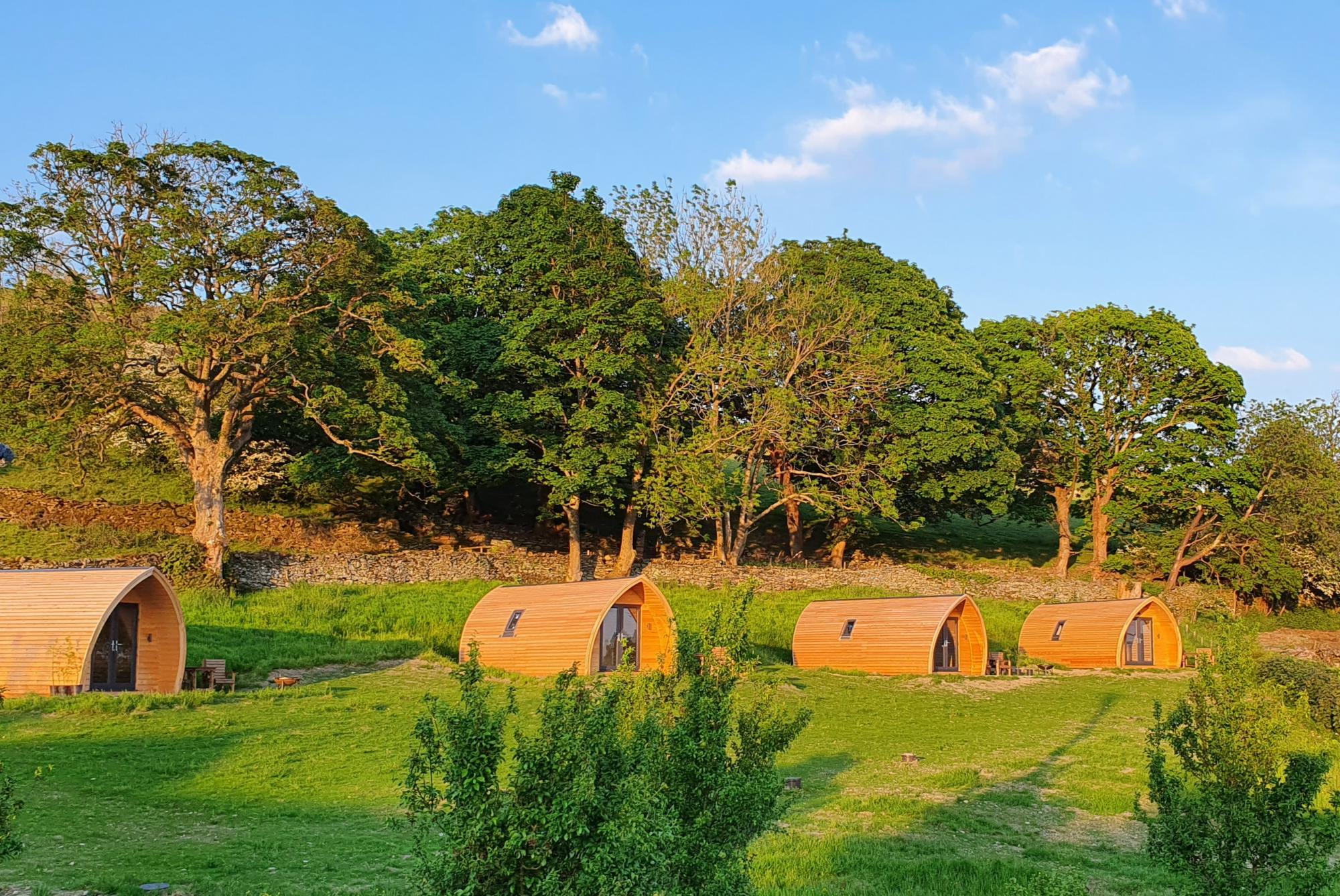 Campsites in Cumbria holidays at Cool Places
