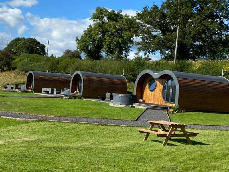 Great House Farm Luxury Pods Great House Farm, Llandeilo Graban, Builth Wells, Powys LD2 3JE