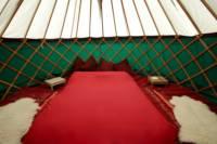 3.65m squrts (baby yurts) sleeping two