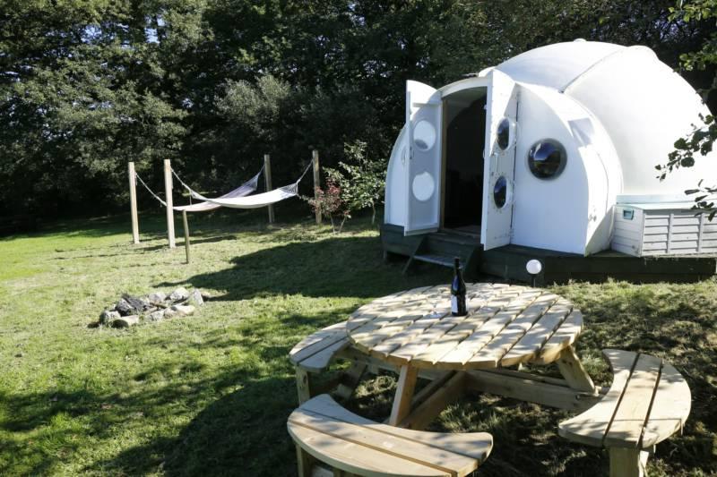 Hideaway Camping Higher Melbury, Northlew, Okehampton, Devon EX20 3PG